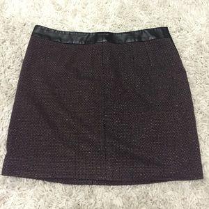 DKMY tweed skirt